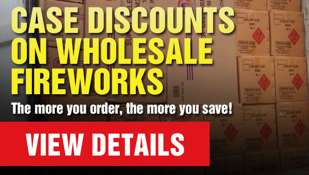 Case Discounts on Wholesale Fireworks at Dapkus Fireworks - Out of State Sales Only