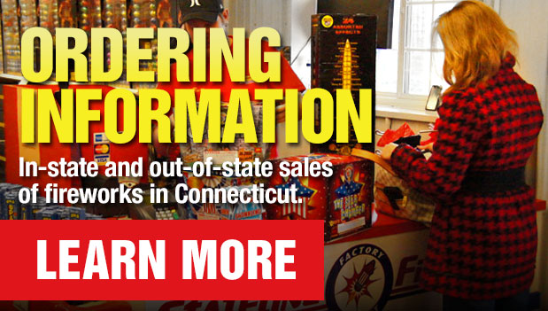 Ordering Information - Buying Fireworks in Connecticut for In-State or Out-of-State Sales