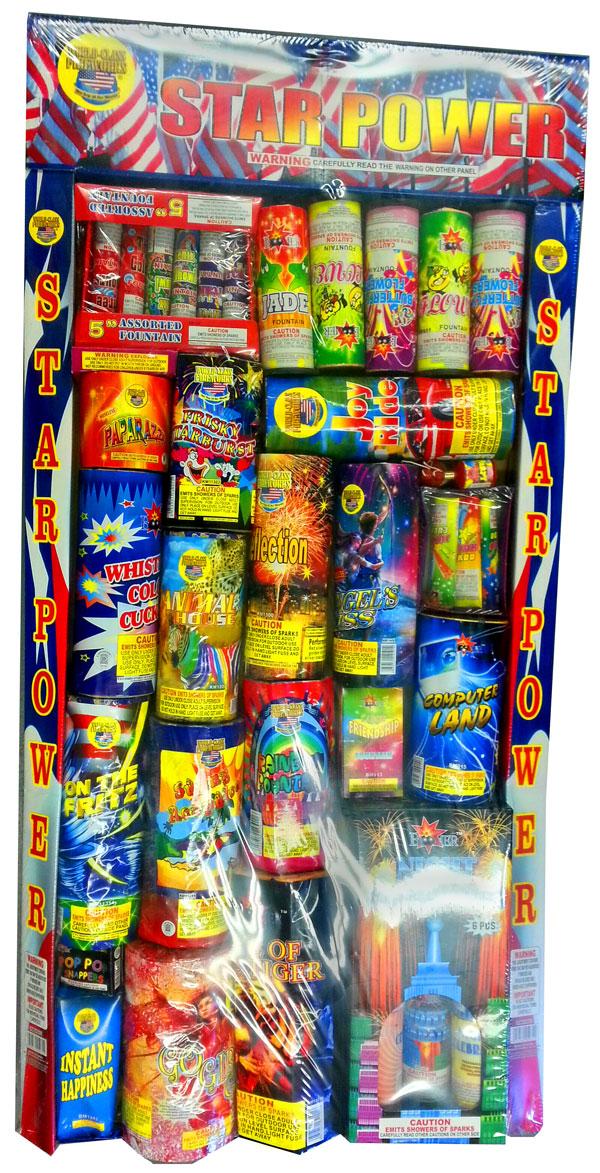 WORLD CLASS STAR POWER ASSORTMENT: Dapkus Fireworks Company